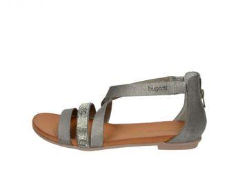 Bugatti dámske štýlové sandále - šedé