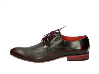 Faber pánske spoločenské topánky - bordové