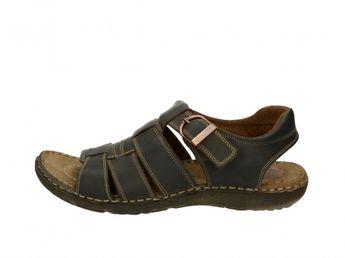 Girza pánske kožené sandále - hnedé