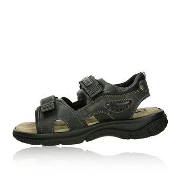 Klondike pánske sandále - čierne