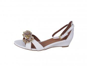 Marco Tozzi dámske sandále - biele