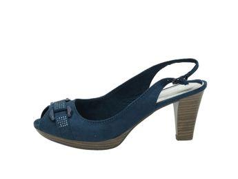 Marco Tozzi dámske sandále - modré