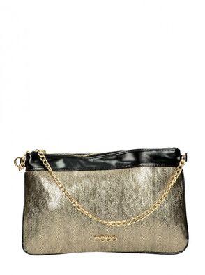 Nóbo dámska spoločenská kabelka - zlatá
