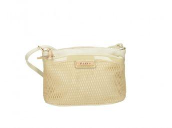 Pabia dámska elegantná kabelka - zlatá