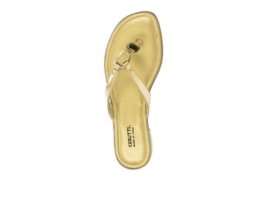 Cerutti dámske šľapky - zlaté