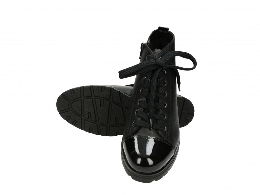 Remonte dámske tenisky - čierne