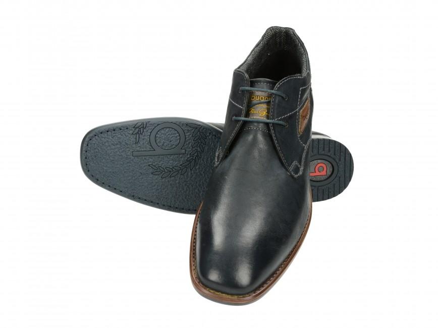 Bugatti pohodlné pánske kožené topánky