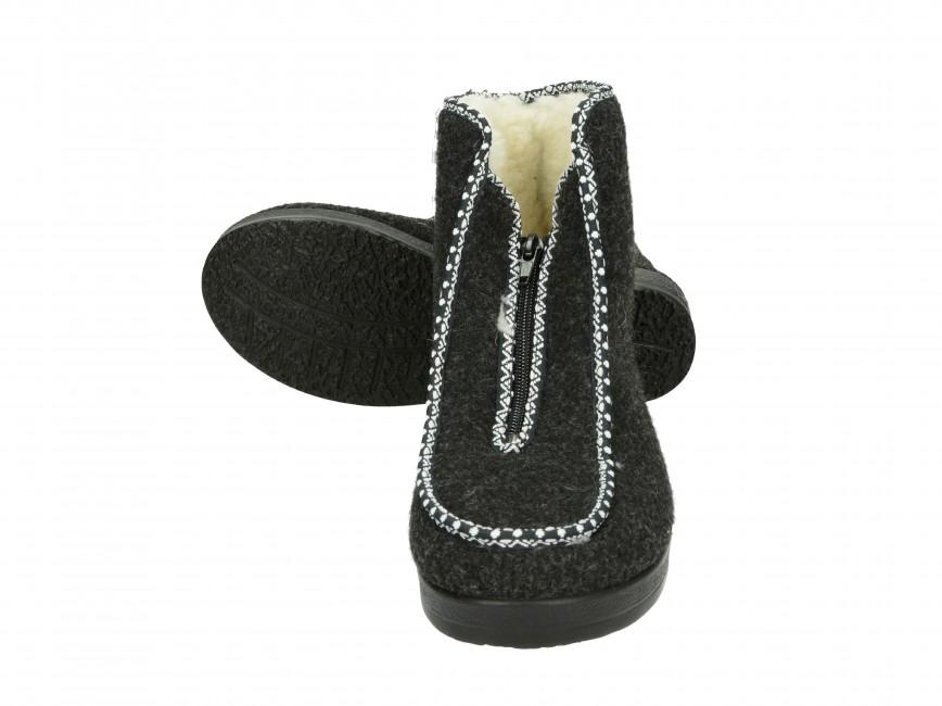 Mjartan dámska domáca obuv - šedá