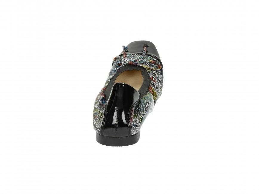 Monnari dámske balerínky - multicolor