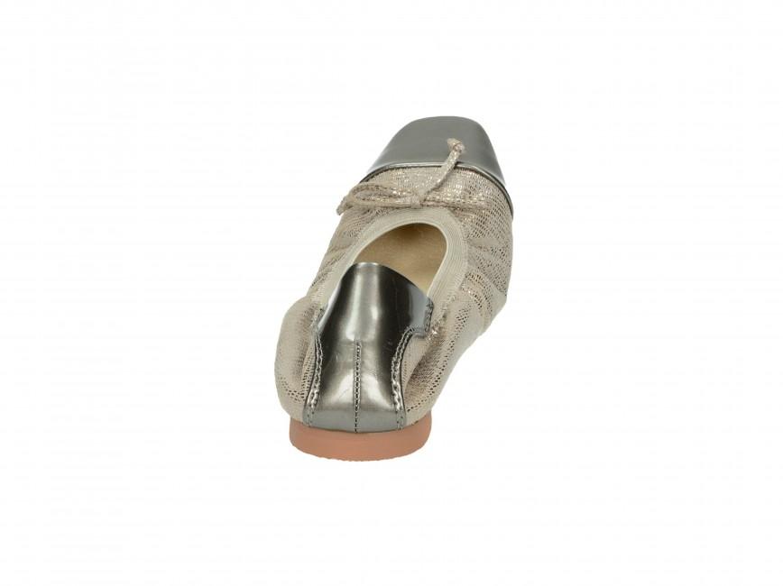 Monnari dámske balerínky - šedé