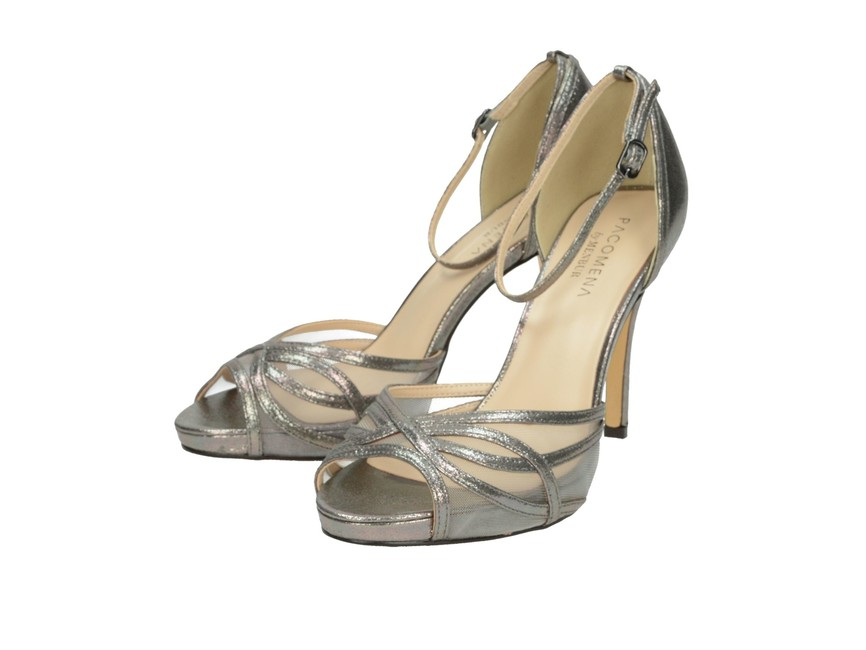 557e3fce004e Pacomena dámske sandále - strieborné ...