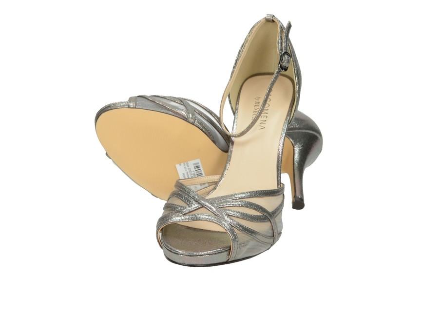 104f6d1684a6 ... Pacomena dámske sandále - strieborné ...
