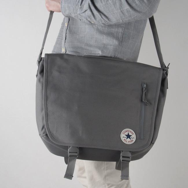 1209b9dfe71e0 Converse pánska taška - šedá | 10003660-GREY www.robel.sk