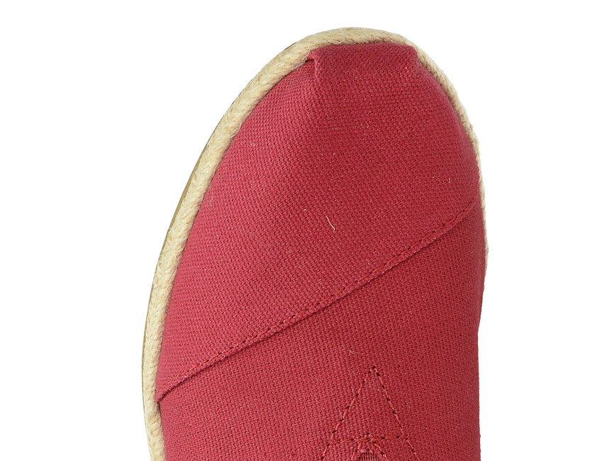 Toms dámske espadrilky - červené