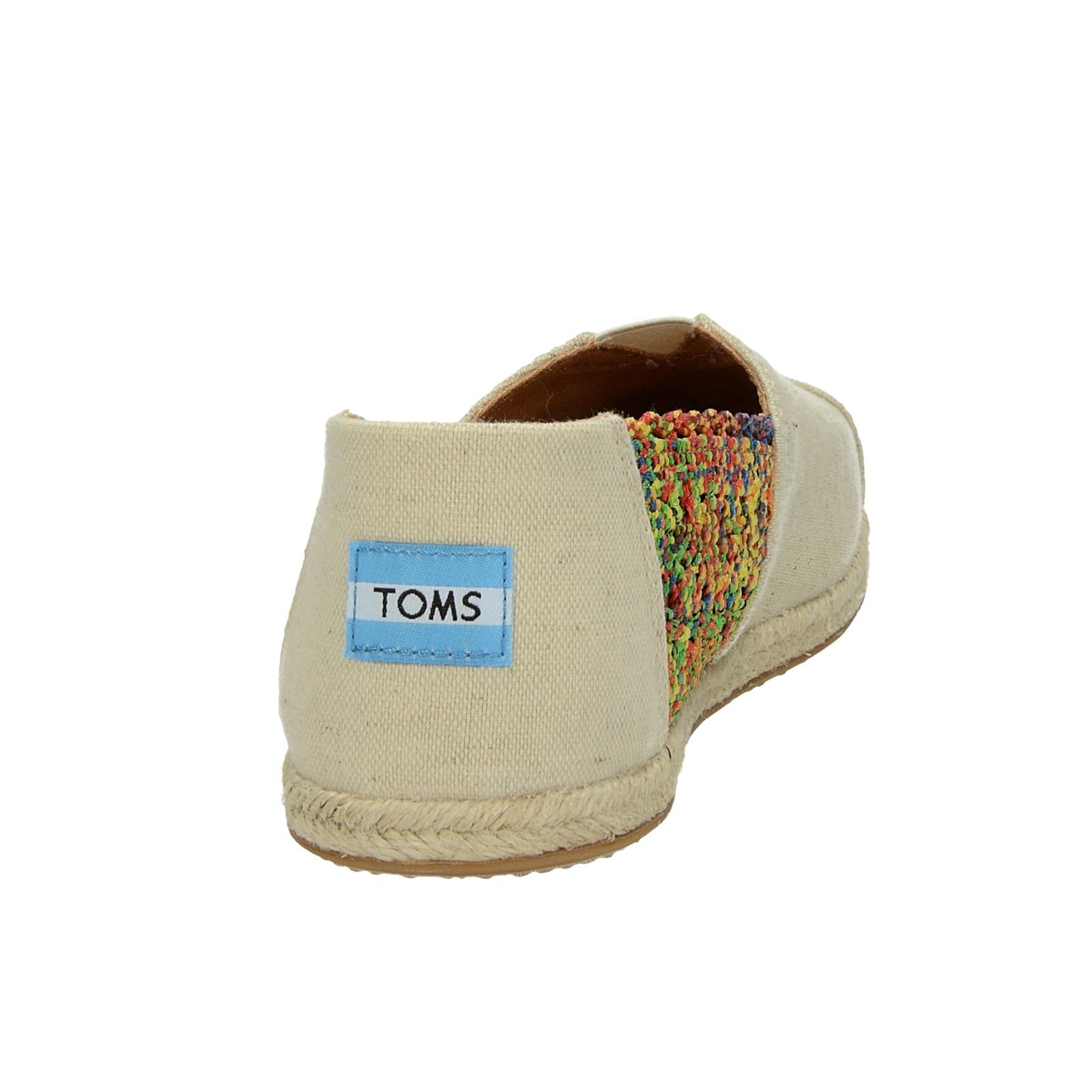 Toms dámske štýlové espadrilky - béžové