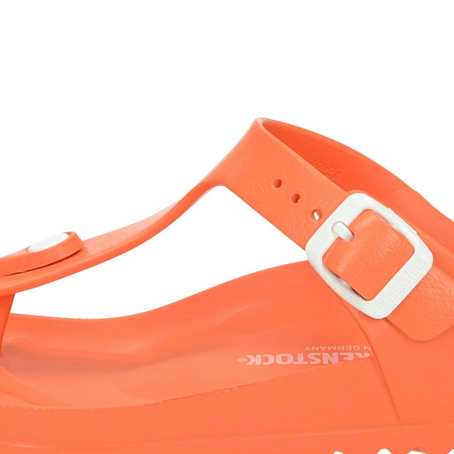 Birkenstock dámske štýlové šľapky - oranžové