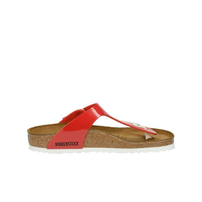Birkenstock dámske štýlové plážovky - červené