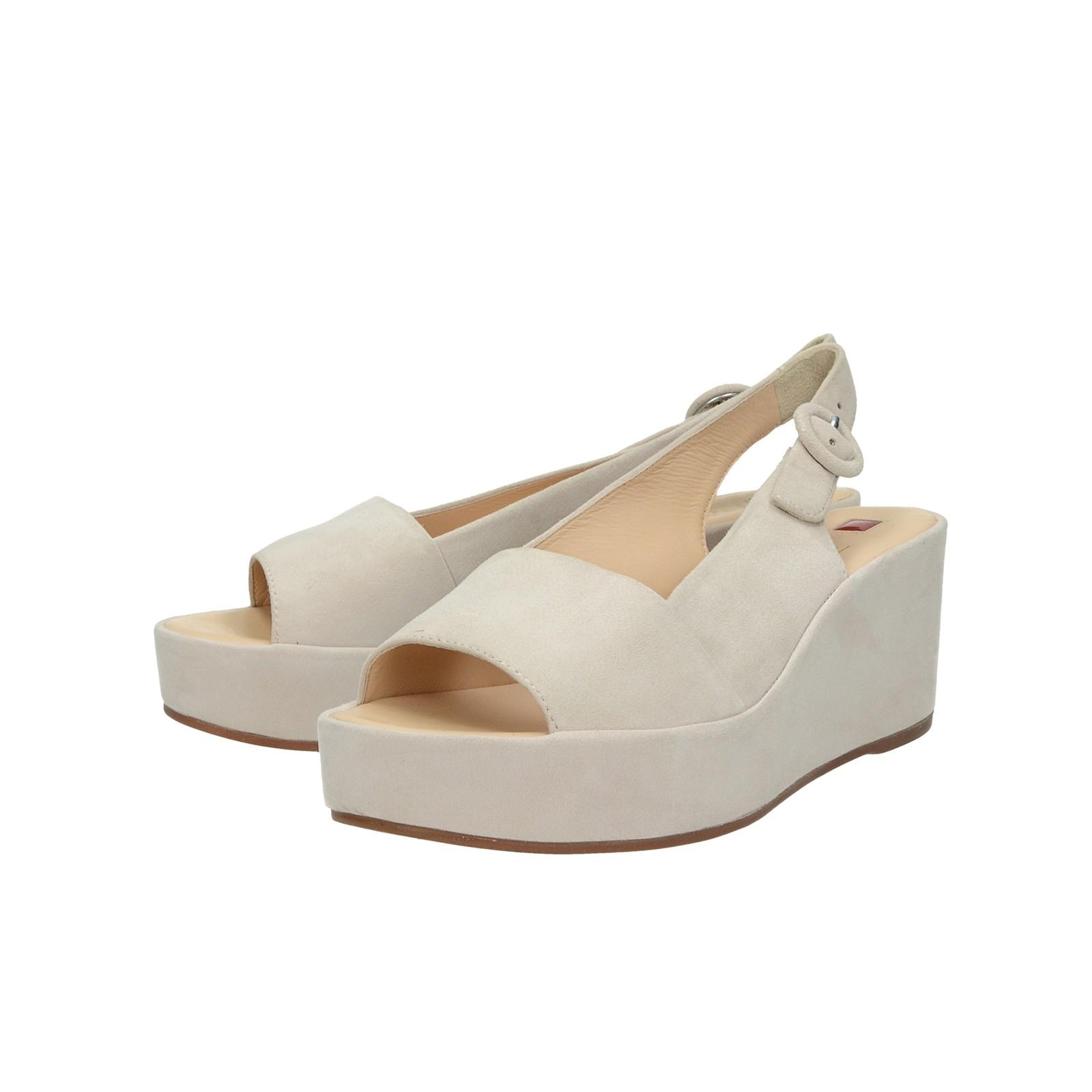 1ea949416e0d Högl dámske semišové sandále na klinovej podrážke - ružové ...