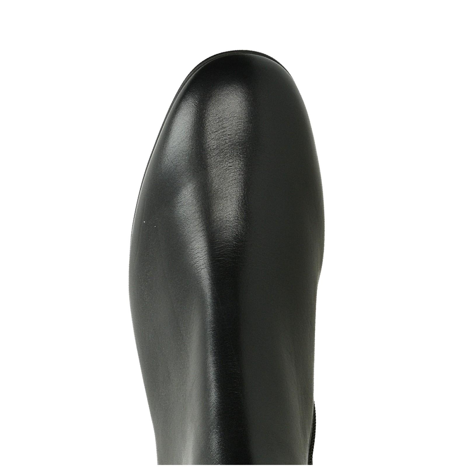 Högl dámske kožené kotníky - čierne