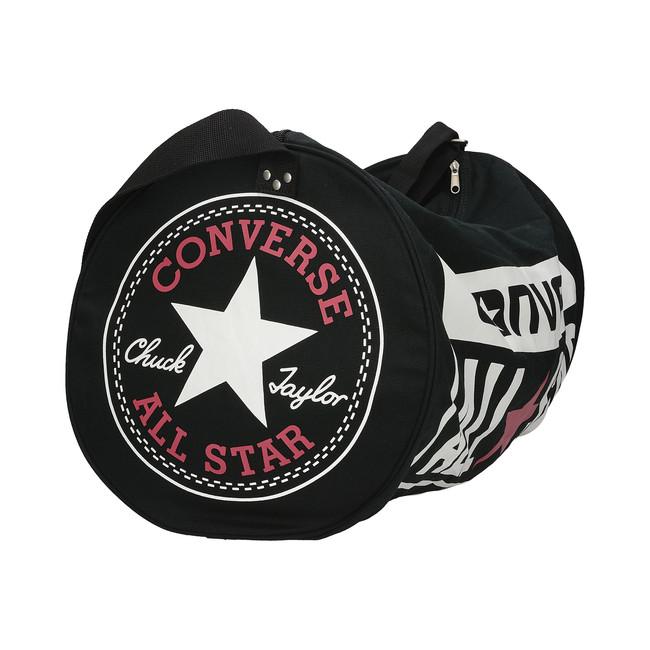Converse unisex športová taška so zipsom - čierna