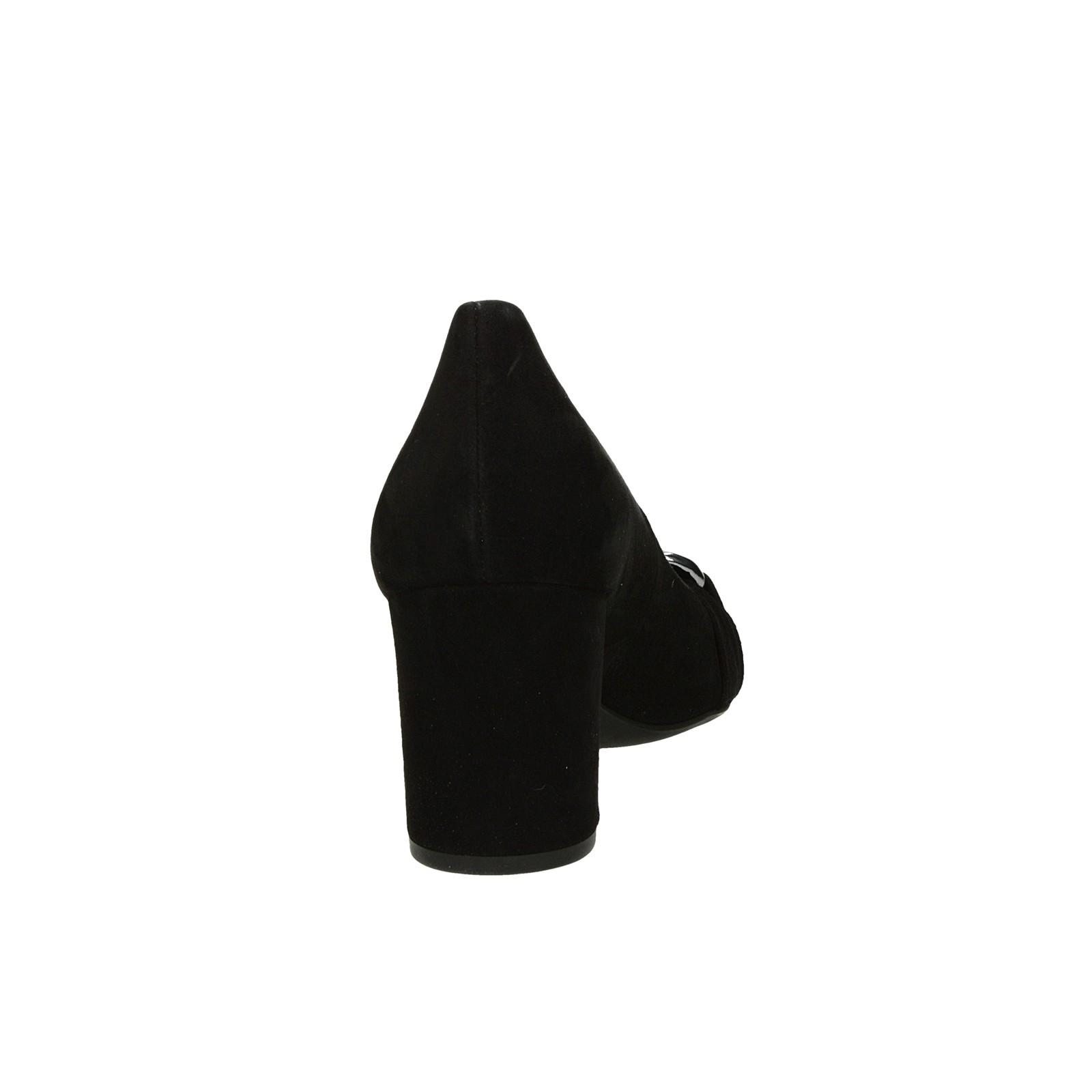 Högl dámske semišové lodičky - čierne