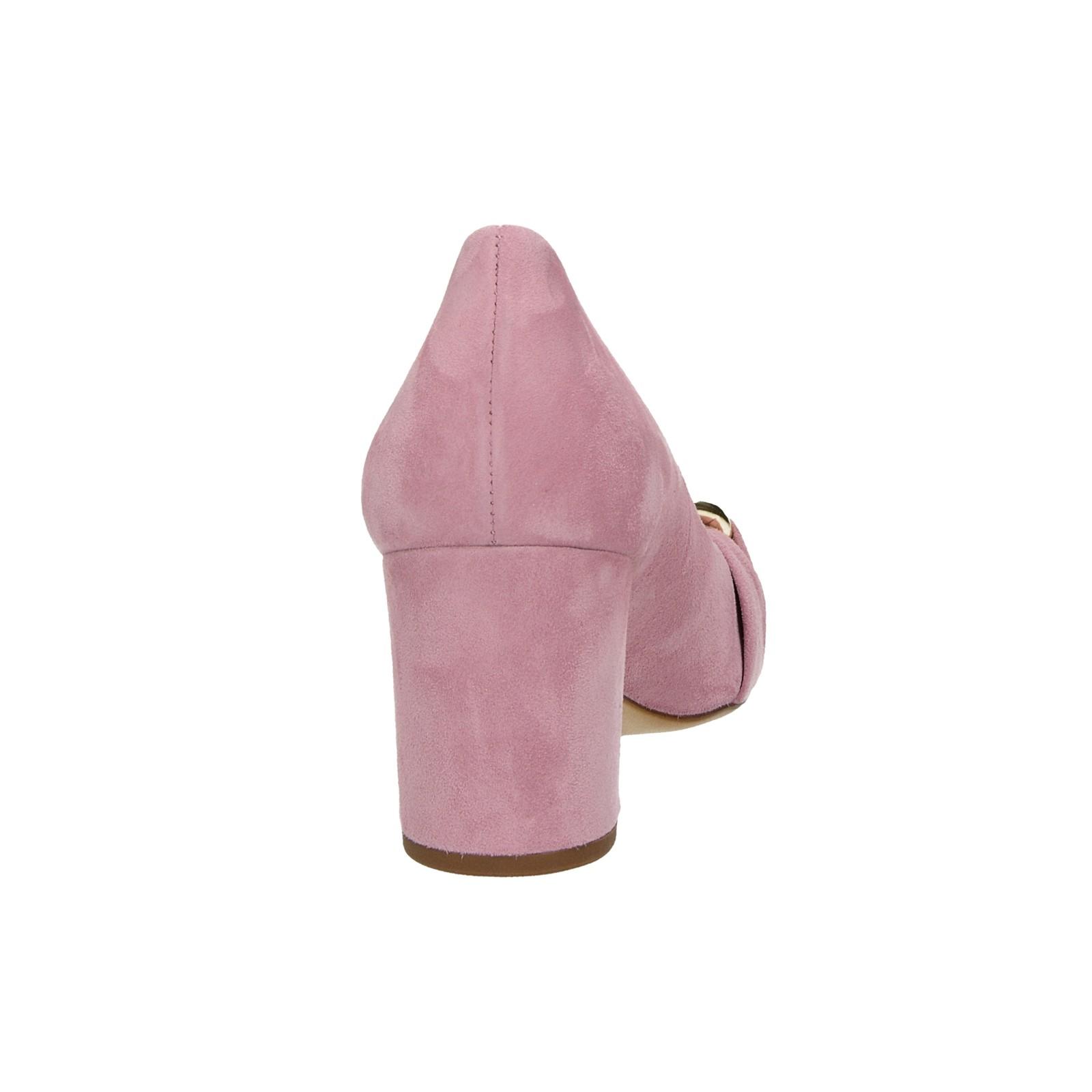 Högl dámske semišové lodičky - ružové