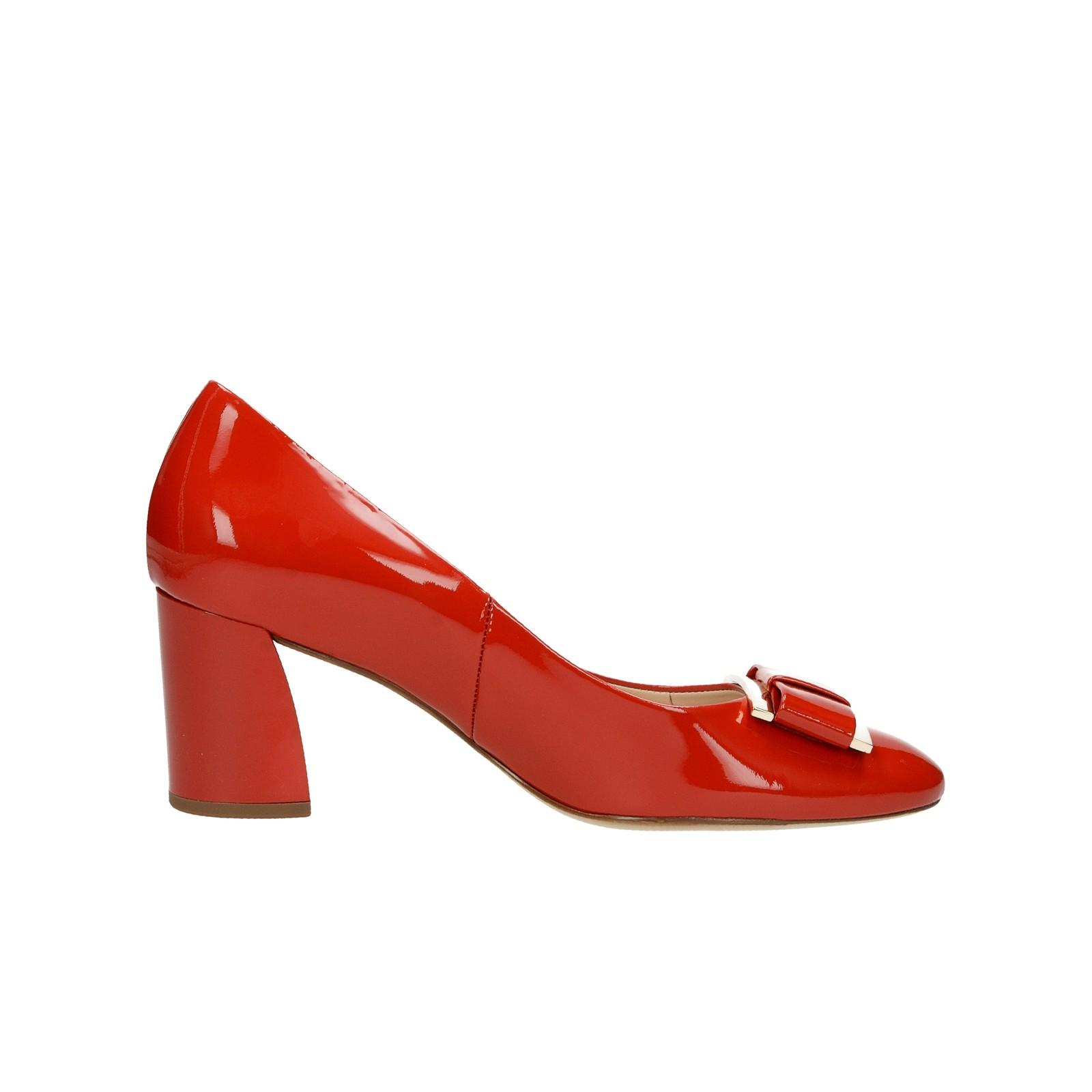 5c2fb93a235e ... Högl dámske lesklé lodičky - červené ...