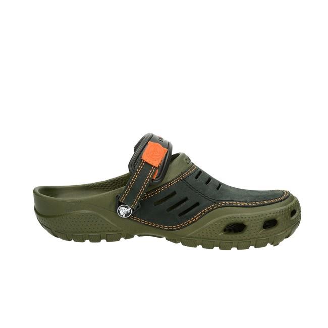 8ef7c329330 Crocs pánske šľapky - olivové ...
