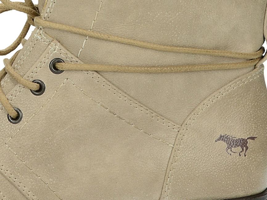 Mustang dámske pohodlné kotníky - béžové