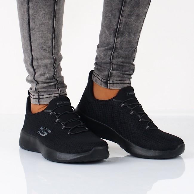 fbec6e1b1b Skechers dámske textilné tenisky - čierne ...