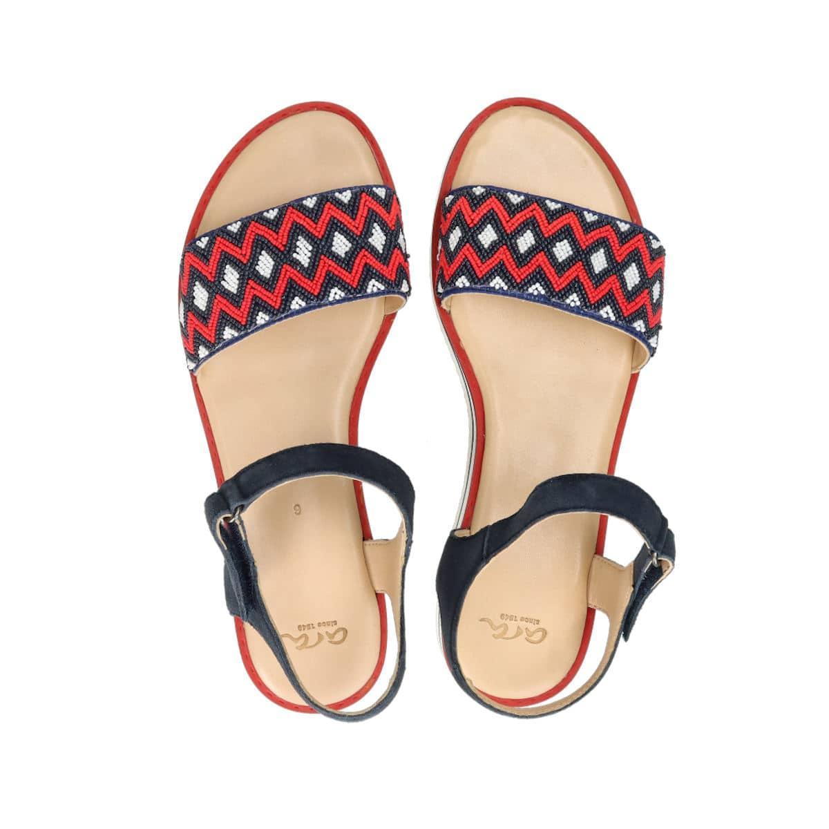 Ara dámske štýlové sandále - tmavomodré