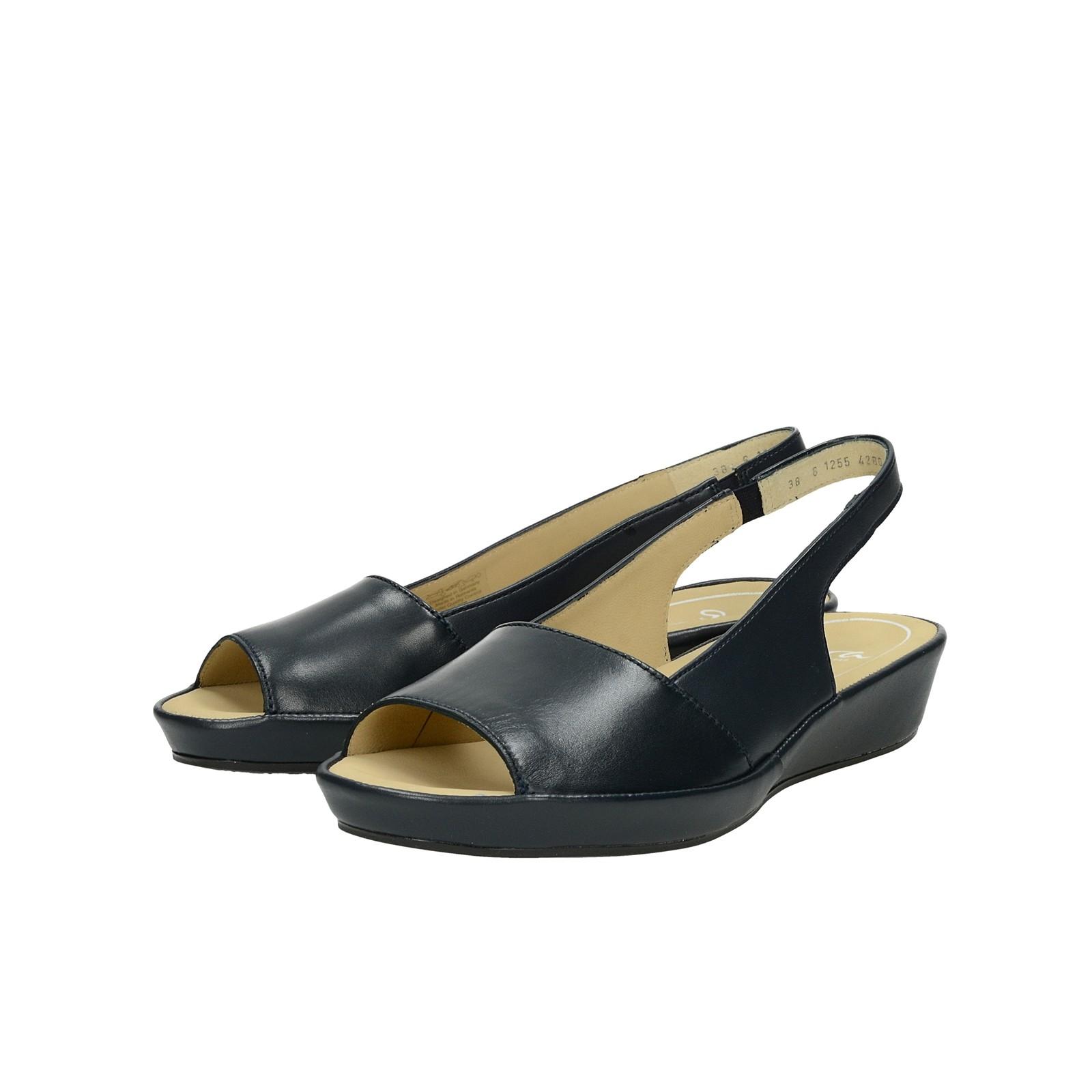 cad5b904bdb7 Ara dámske kožené pohodlné sandále - tmavomodré ...