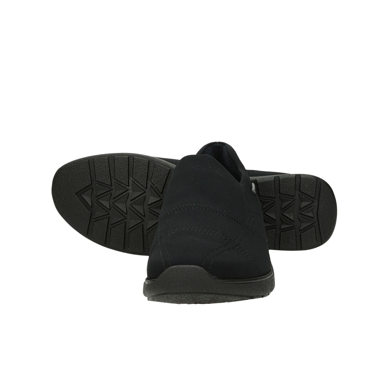 Ara dámske pohodlné tenisky bez šnúrovania - čierne
