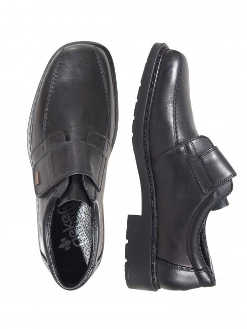 21abe8be7c4b Rieker pánske topánky na suchý zips - čierne ...