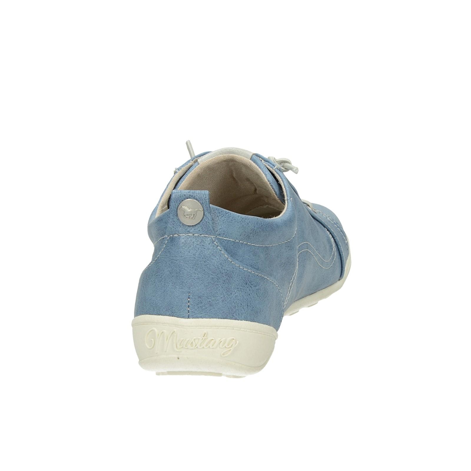 cca01f96a212 ... Mustang dámske pohodlné tenisky - modré ...