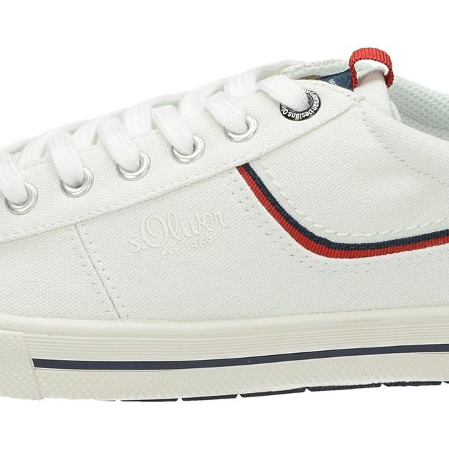 249d0da1fa ... S.Oliver pánske štýlové textilné tenisky - biele ...