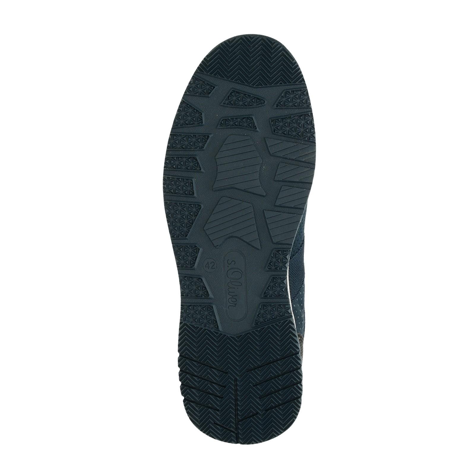 s.Oliver pánske pohodlné tenisky - tmavomodré