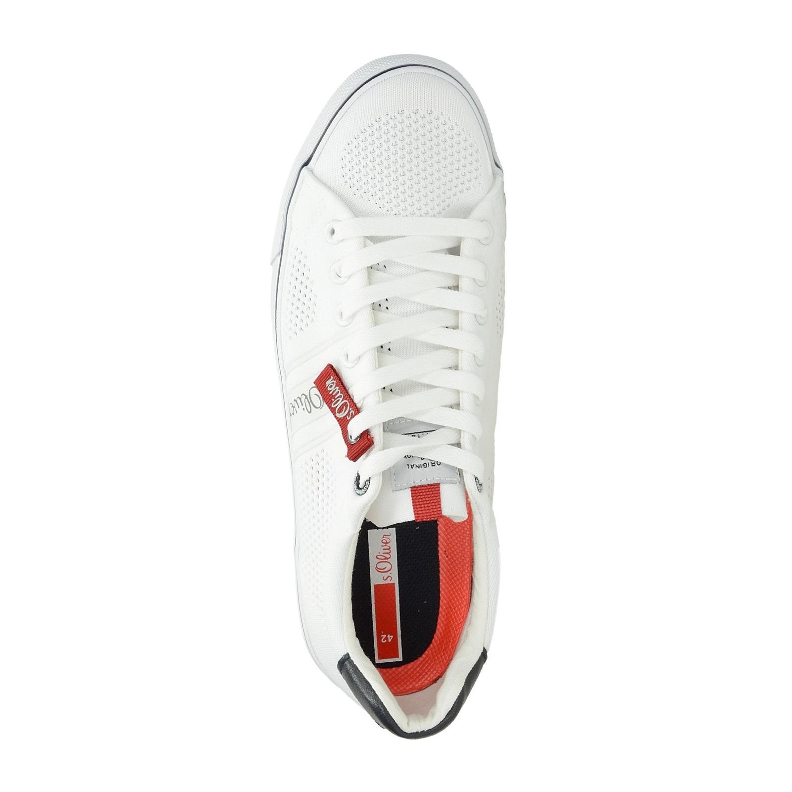 29157caeb4 s.Oliver pánske pohodlné tenisky - biele ...