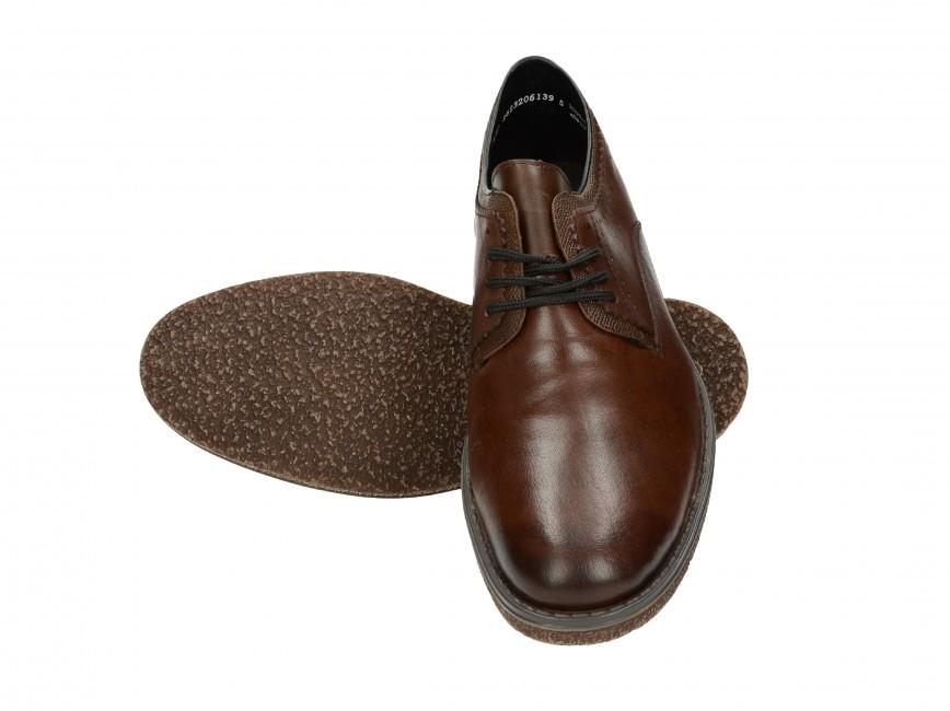 Rieker pánske spoločenské topánky - hnedé ... acfe3a34601
