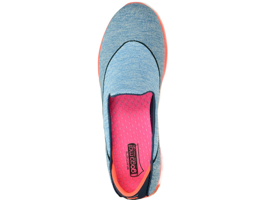 Skechers dámske slip-on tenisky - modré