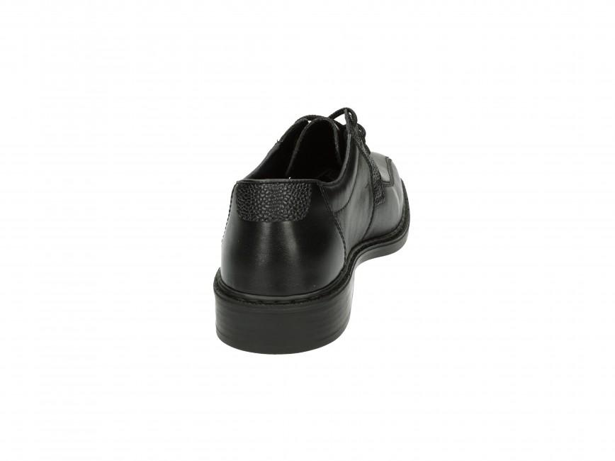 327601044 Rieker pánske spoločenské topánky - čierne | 1410200-BLK www.robel.sk