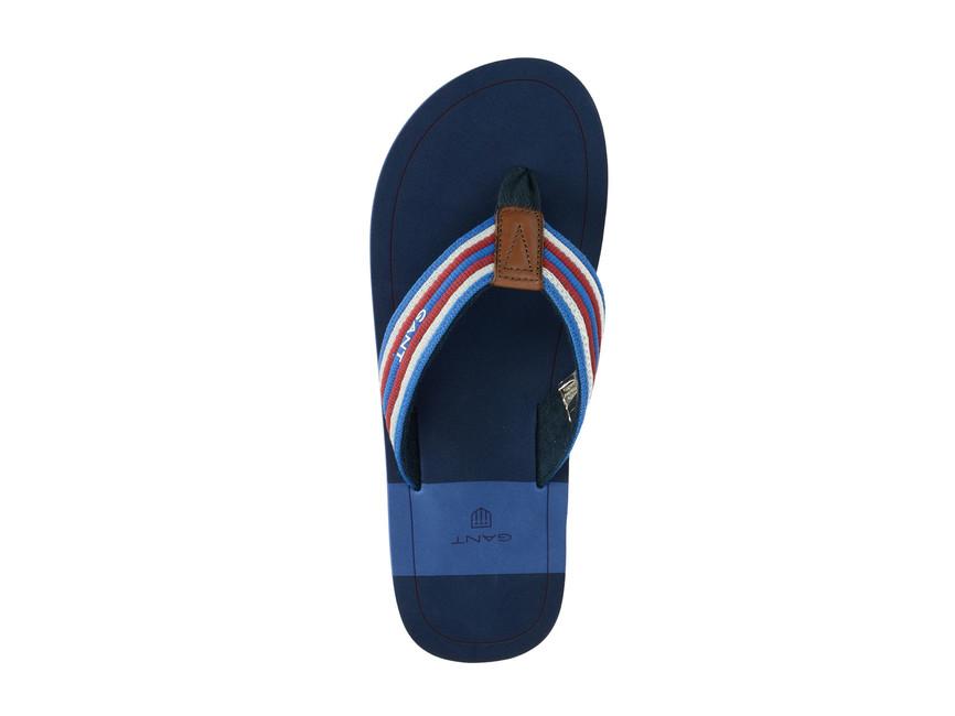 2d2722f7c Gant pánske šľapky - modré | 14698629G60-YALEblue www.robel.sk