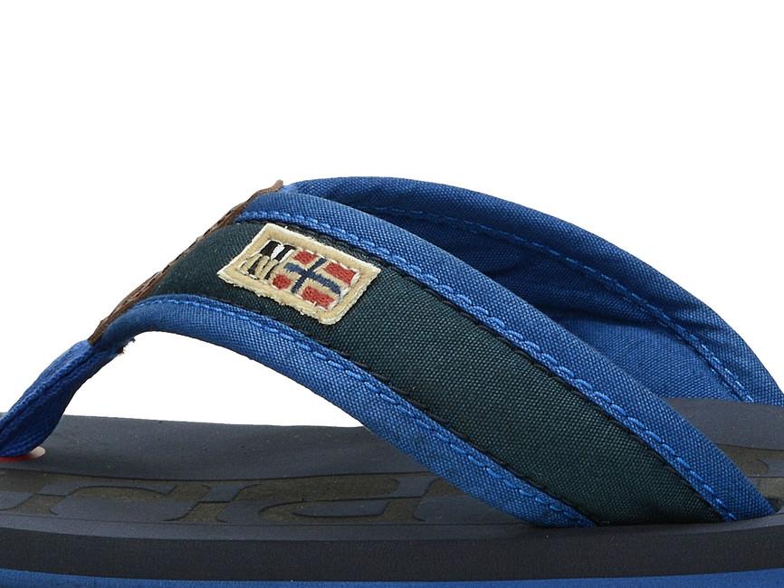 75e2f2ea4c1e ... Napapijri pánske šľapky - modré ...