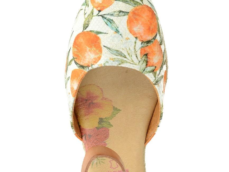 Marila dámske vzorované espadrilky - multicolor