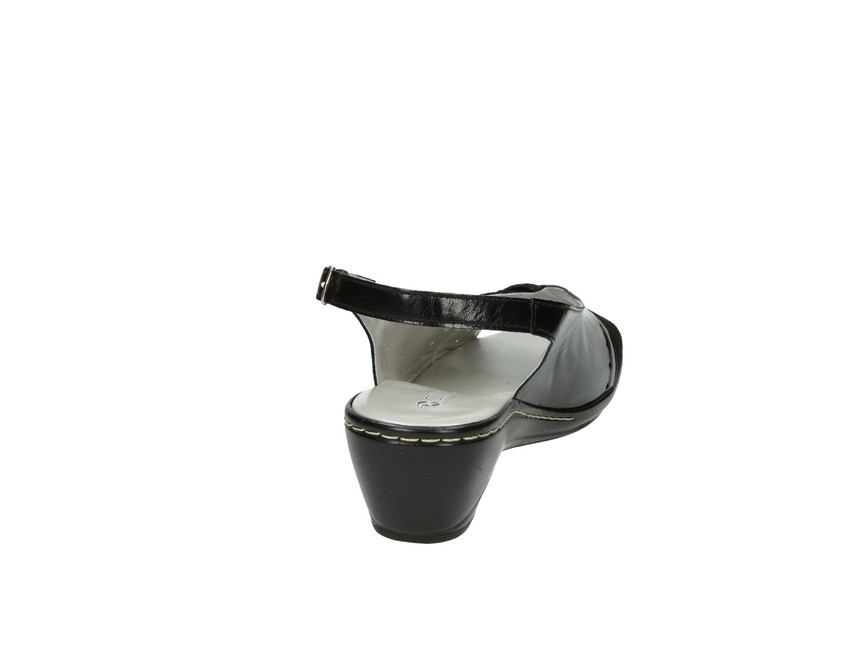 Confort SPA dámske sandále - čierne