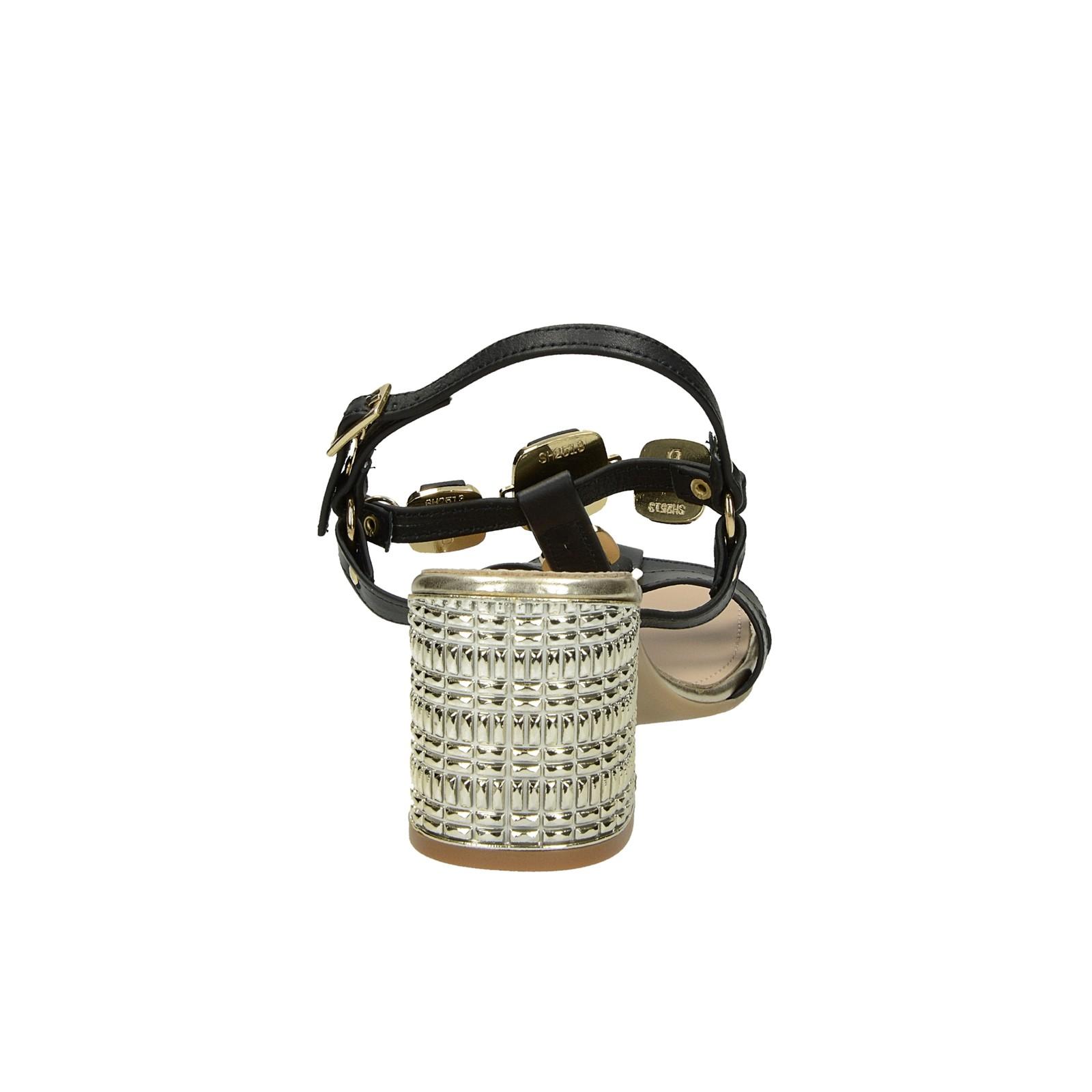 8e5245ed14c95 Prativerdi dámske kožené elegantné sandále - čierne | 163216M75-BLK ...