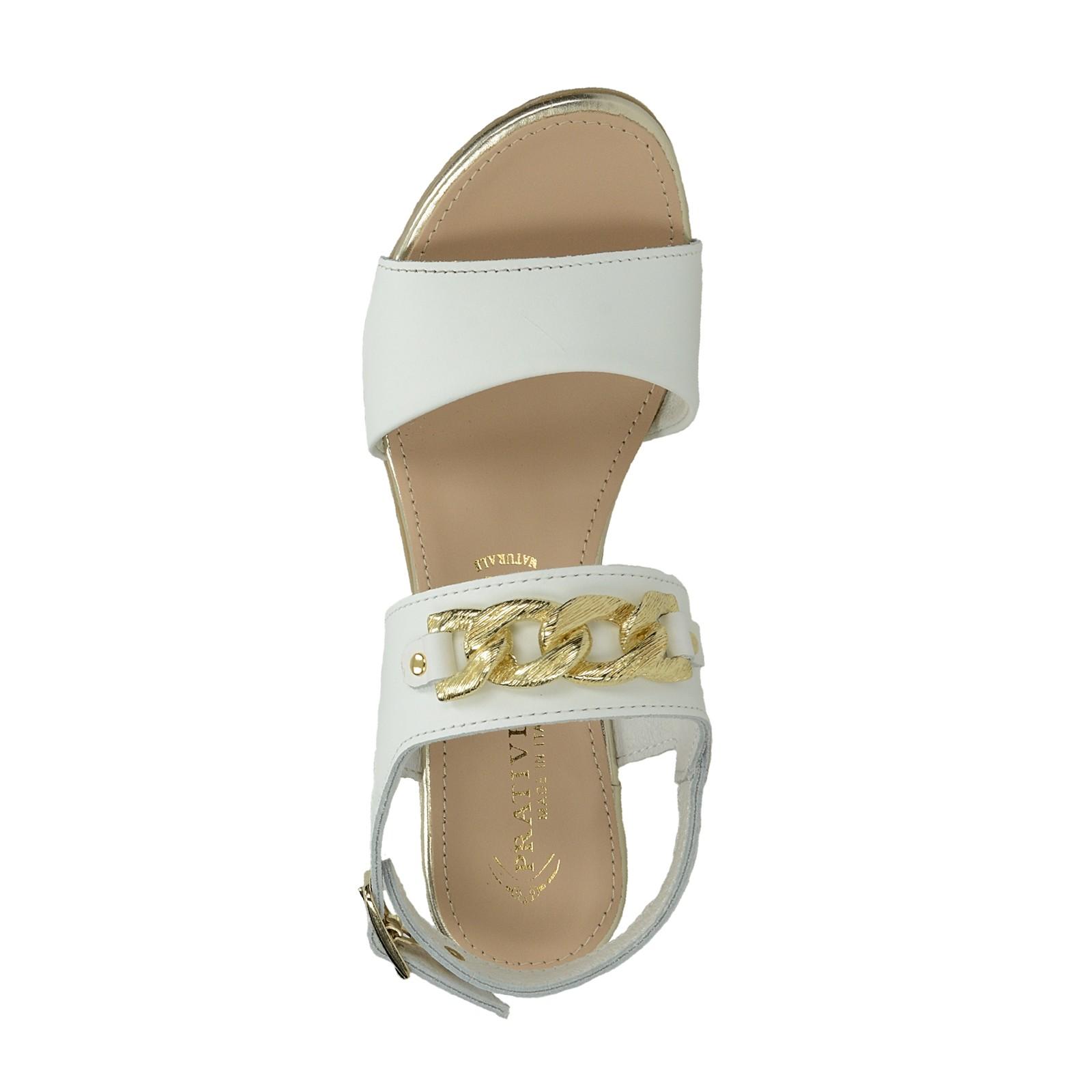 c6b46078bb486 Prativerdi dámske elegantné sandále - biele | 163930-WHT www.robel.sk