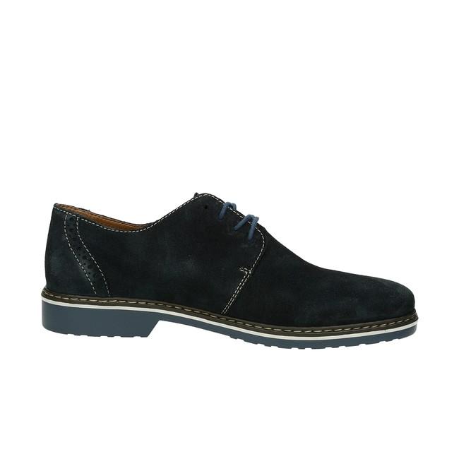 a45b6edefd52 ... Rieker pánske semišové topánky - modré ...