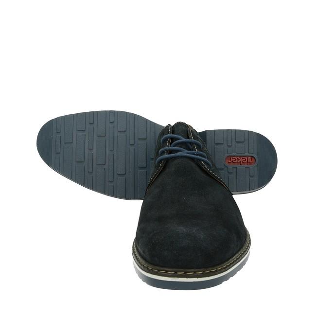 b19b1836843f8 Rieker pánske semišové topánky - modré | 1650114-PAZIFIK www.robel.sk