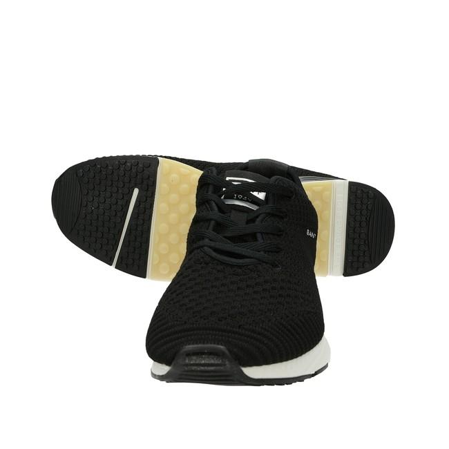 Gant pánske pohodlné textilné tenisky - čierne